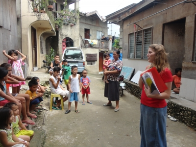 Mommy Teaching in Cebuano
