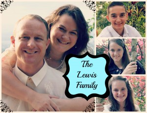 Lewis Family Collage