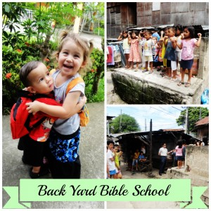 Back Yard Bible School