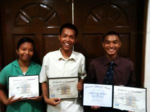 Gift Program Graduates 2016