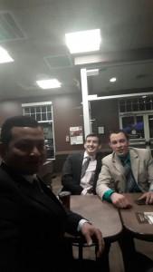 Aaron Antonio, Callen Lange, and Justin Dye