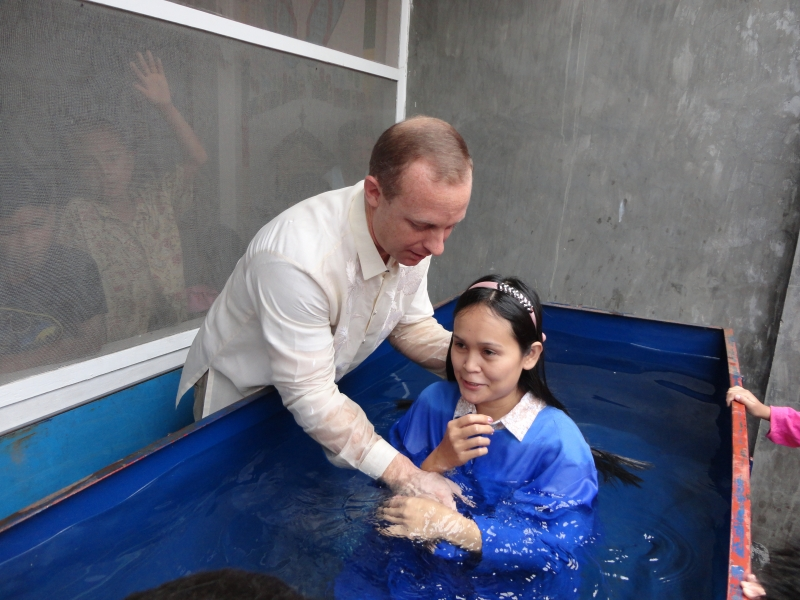 What a blessing to see new believers take this next step of faith