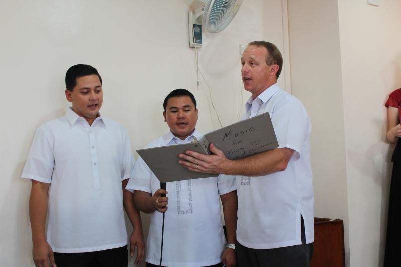 """Singing """"We Three Kings"""" in the Christmas Program"""